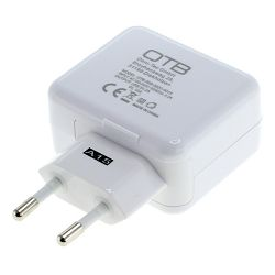 OTB Ladeadapter USB - Quick Charge 2.0 - weiß